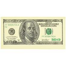Money Napkins 100 Dollar Bill (2 Pack / 20 Napkins Total)