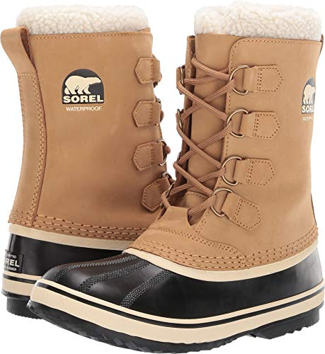 SOREL - Women's 1964 Pac 2 Shell Boot, Size: 7 B(M) US, Color: Buff/Black