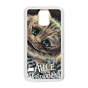 Alice In Wonderland Fashion Comstom Plastic case cover For Samsung Galaxy S5