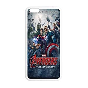 Age of Ultron Theme Case Cover For Apple Iphone 6 4.7 Inch (PC Material) White/Black Case Cover For Apple Iphone 6 4.7 Inch Accessories Cover