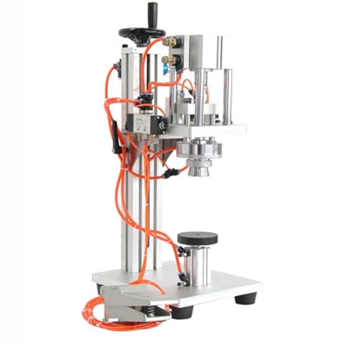 JIAWANSHUN Máquina de bloqueo de perfume neumático de aluminio ...