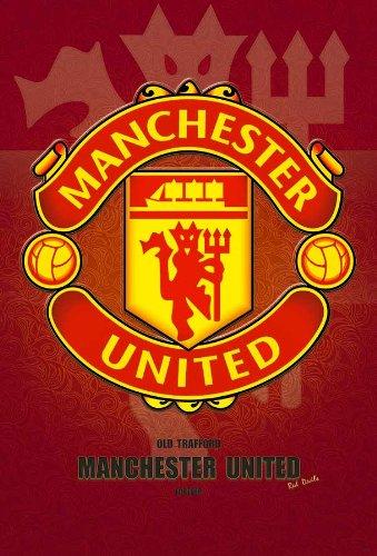 O-7831 Manchester United/ Man Utd Logo Football,soccer Poster#13 - Rare New - Image Print (Football Soccer Poster)