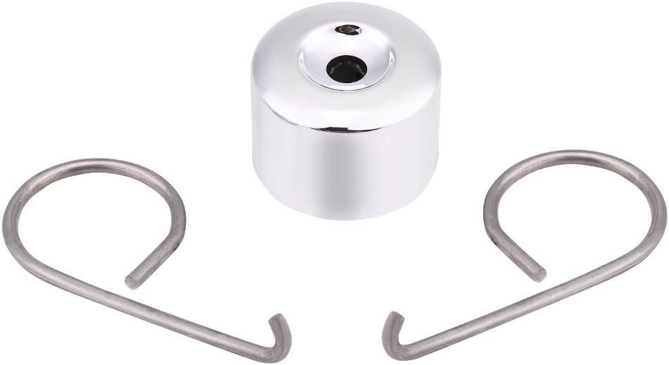 Qiilu 20pcs 17mm Chrome Wheel Looking Nut Bolt Cap Cover
