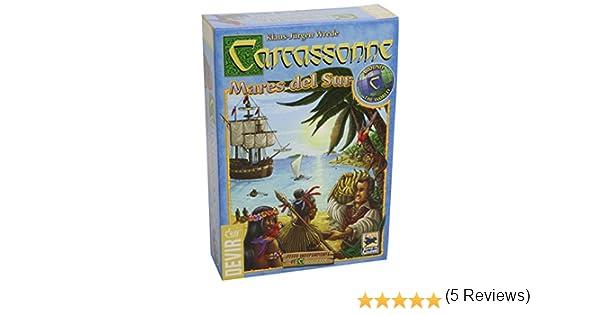Devir - Carcassonne Mares del Sur, Juego de Mesa (BGCARSUR): Amazon.es: Juguetes y juegos