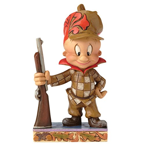 Enesco Looney Tunes by Jim Shore Hunter Elmer Fudd Personality Pose Stone Resin Figurine