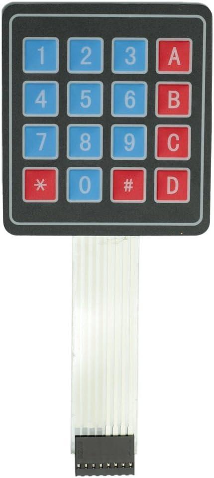 Matrix 4x4 16 de membrana clave conmutador teclado teclado ...
