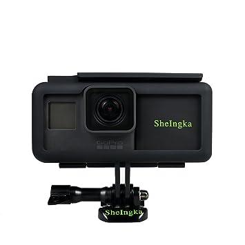 La cámara para GoPro Hero 5/6 con batería externa/5 en 1 Sport accesorios de cámara