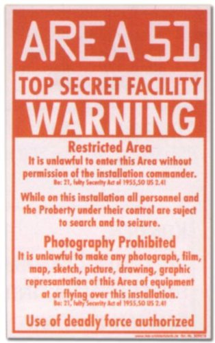 PST-escudo - AREA 51 WARNING Top Secret - escudo diversión ...