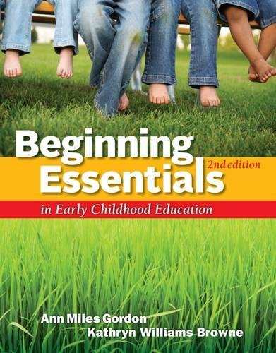 Beginning Essentials in Early Childhood Education (Beginning Essentials In Early Childhood Education 3e)