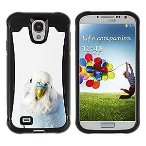 Suave TPU GEL Carcasa Funda Silicona Blando Estuche Caso de protección (para) Samsung Galaxy S4 IV I9500 / CECELL Phone case / / Bird Parrot Blue Baby White Yellow Peak /
