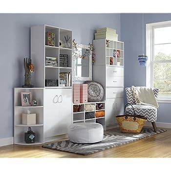 Storage Bench, White