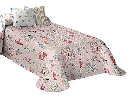 Castilla Textile Circus Bedspread copriletto modern 180 x 270 cm white Castilla Textil 2 Circo