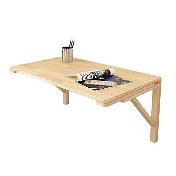 Laptop Desk Home Tavolo da Pranzo in Legno di Pino Tavolo Pieghevole ...