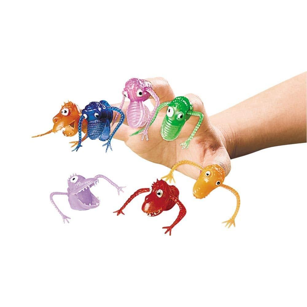 OTC - Neon Finger Puppets - Novelty Toys & Hand & Finger Puppets, Vinyl Fun Express 39/368