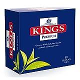 Kings Premium English Tea,160 tea bags of 500 grams.(A case of 2, individually over wrapped 80's,tea boxes)