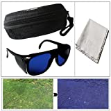 Andux Golf Ball Finder Prefessional Lenses Glasses with Mould Case Eyeglass Cords Gl-3