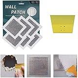 6 Inch 6Pack Drywall Repair Patch, Self Adhesive Fiberglass Wall Repair Patch Kit,Aluminum Wall Repair Patch Self Adhesive Sc
