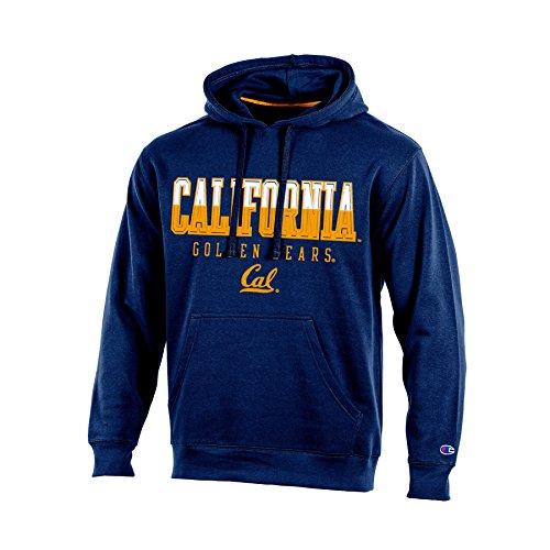 NCAA California Golden Bears Adult Men Pullover Hooded Fleece, Medium, Navy Bears Ncaa Hooded Fleece