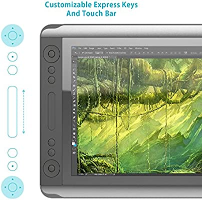 Amazon com: Huion 18 4 Inch Graphic Drawing Tablet Monitor