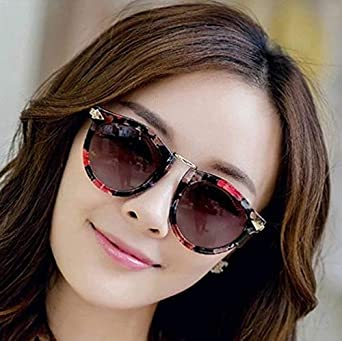 412cd26805b5 Women Fashion Flower Style Retro Reflective Sunglasses Eyewear Driving  Sports Glasses