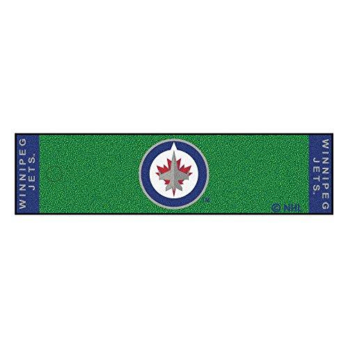 Jets Putting Green - FANMATS NHL Winnipeg Jets Nylon Face Putting Green Mat