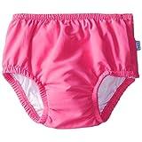 Ultimate Snap Swim Diaper-Hot Pink Solid-M (12mo)