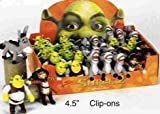 Shrek Keychain Set, Shrek, Boots And Donkey - 3 Pieces