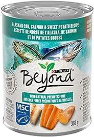 Beyond Grain Free Natural Wet Dog Food, Ocean Whitefish, Salmon & Sweet Potato 368 g