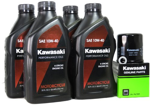 2007 Kawasaki VULCAN 900 CUSTOM Oil Change Kit (Kawasaki Vulcan 900 Custom compare prices)