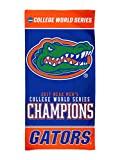 WinCraft Florida Gators 2017 NCAA College World Series CWS Champions Spectra Beach Towel