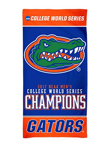 WinCraft Florida Gators 2017 NCAA College World Series CWS Champions Spectra Beach (Florida Gators Stuff)