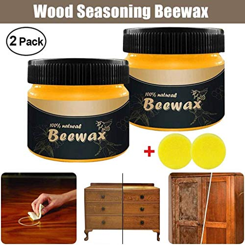Jonerytime_Wood Seasoning Beewax Complete Solution Furniture Care Beeswax Home Cleaning from Jonerytime_ Home & Garden