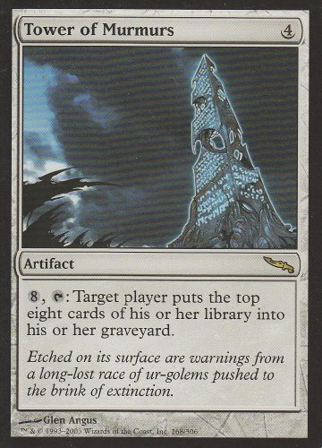 Tower of Murmurs (Magic the Gathering : Mirrodin #268 Rare)