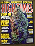 High Times December 2010 Global Harvest Report Top 10 Strains of the Year Indoor Tent Growing Legal Buds Pot and the NBA The Doors Robby Krieger Interview Blue Dream