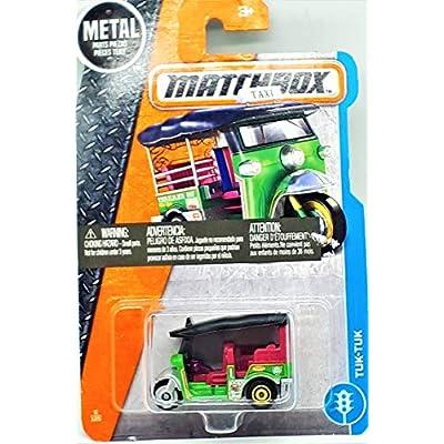 Matchbox 2020 MBX City Tuk-Tuk Thailand Taxi 6/125, Green: Toys & Games