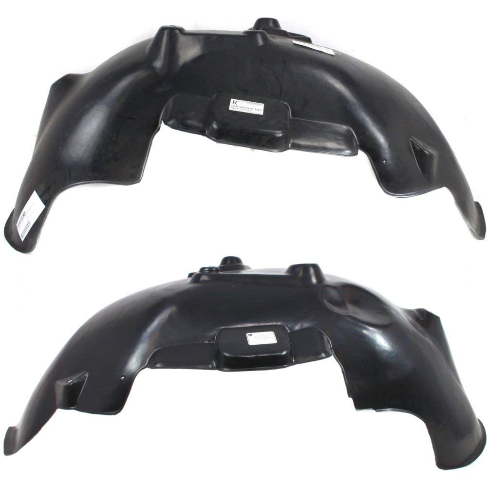 Splash Shield Front Left and Right Side Fender Liner Set of 2 Plastic for DODGE FULL SIZE P/U 02-09 New Body Style