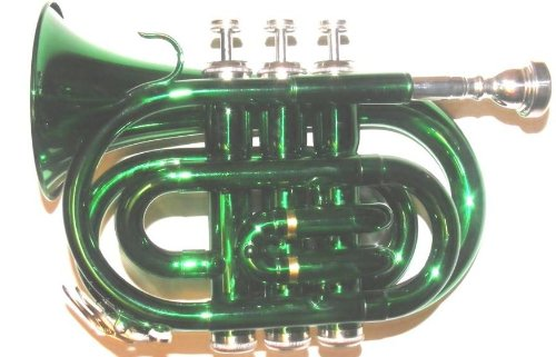 Green Pocket Trumpet by Merano