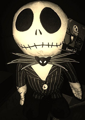 Disney's / Tim Burton's the Nightmare Before Christmas 12 Jack Skellington Musical Animated Plush Figure Featuring Instrumental This Is Halloween by Tim Burton ()