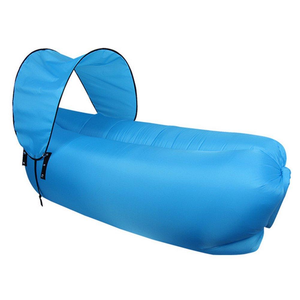 WYF Aufblasbare Liege Couch mit Tragetasche Strandliege Luft Sofa Aufblasbare Couch Bett Pool Float Für Indoor/Outdoor Wandern Camping,