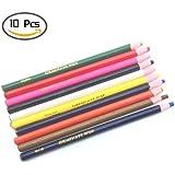 OTRMAX 10PCS Assorted Color Peel-Off China Marker Grease Pencils