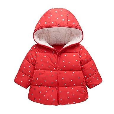 Amuse-MIUMIU - Chaqueta de Invierno para niños con Capucha y ...