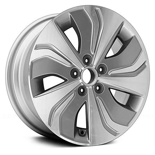 Wheel Charcoal - Replacement COMPATIBLE ALuminum Wheel, Rim 17x6.5 Machined, Hybrid Model Fits Hyundai Sonata