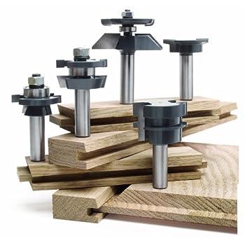 Image of MLCS 8391 Shaker Raised Panel Door Cabinetmaker Set, 5-Piece Home Improvements