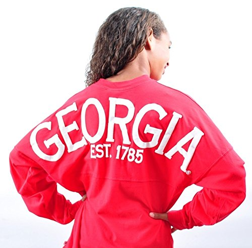 Elite Fan Shop Georgia Bulldogs Spirit Shirt Red - for sale  Delivered anywhere in USA