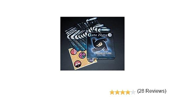 Asmodee- Juego de Cartas Los Hombres Lobo de Castronegro Luna Nueva, Talla Unica (LOB02ES): Amazon.es: Juguetes y juegos