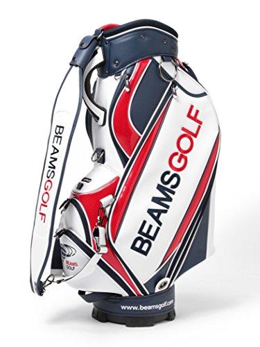 (ビームスゴルフ) BEAMS GOLF / new ツアー プロ キャディバッグ 81610146833 RED2