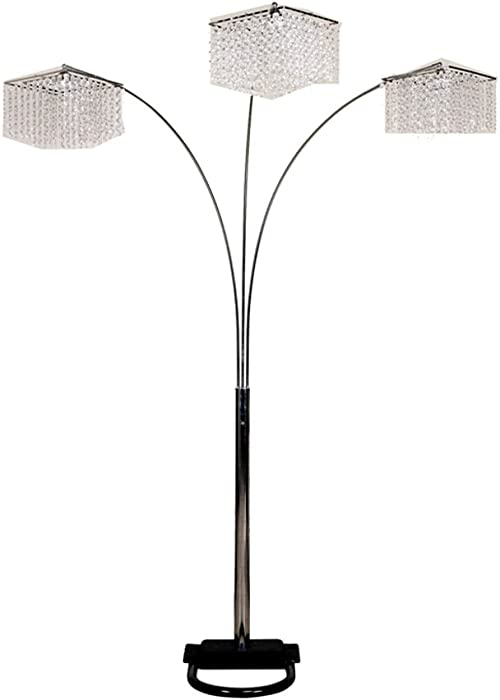 Top 9 Aspire Home Accents 60005 Alicia Contemporary Floor Lamp