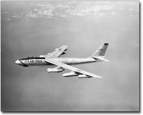 Stratojet Bomber (Boeing B-47 Stratojet Bomber Aircraft 11x14 Silver Halide Photo Print)