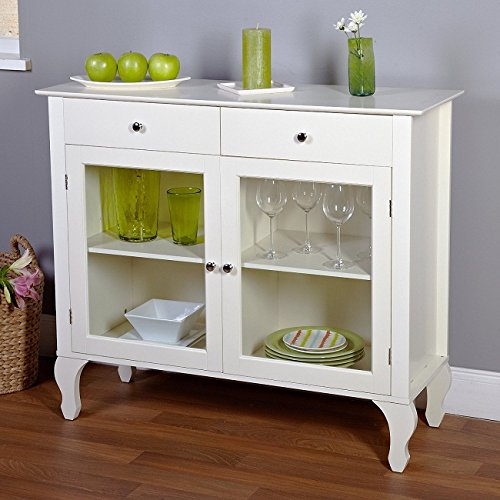 Metro Shop Layla Antique White Buffet-Buffet