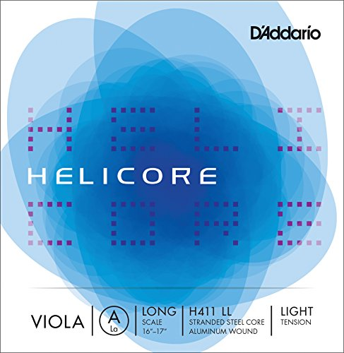 D'Addario Helicore Viola Single A String, Long Scale, Light Tension ()